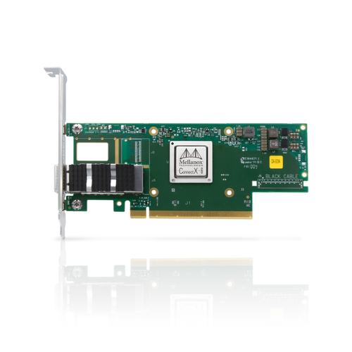 Сетевая карта ConnectX-6 VPI adapter card 100Gb/s (HDR100, EDR IB and 100GbE), single-port QSFP56, PCIe3.0/4.0 x16