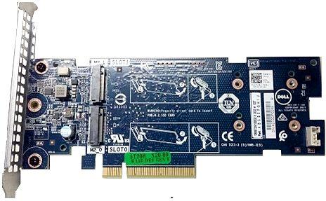 Контроллер RAID Dell 403-BBUC BOSS controller card low profile радиатор dell r730xd 12 4 1u low profile 374 bbhr