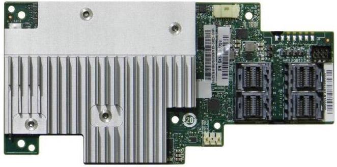 цена на Плата контроллера RAID-массива Intel RAID Module RMSP3AD160F SAS/SATA, PCI-E, 16-port, 4GB DDR4