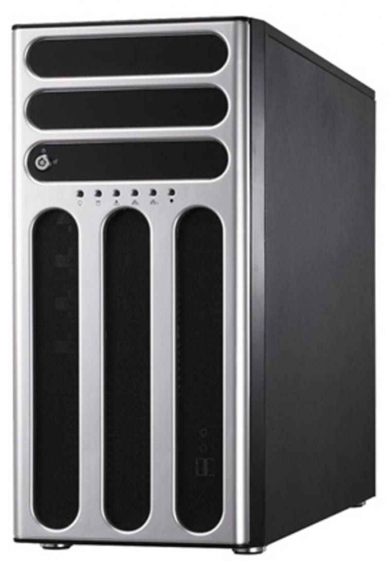 Серверная платформа ASUS TS300-E9-PS4 Tower, s1151 (E3-1200v5/v6), 4xDDR4 ECC, 4x3.5 HotPlug HDD, 4x1GbE, IPMI, 8xUSB, ODD, 500W PCIE x16+2xPCIE x8 + серверная платформа asus rs300 e9 rs4