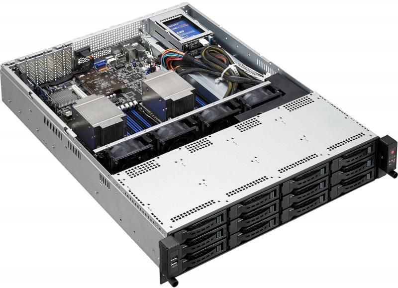 Серверная платформа Asus RS520-E8-RS12-E V2 серверная платформа asus rs300 e9 rs4