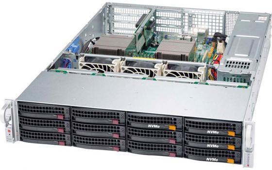 Серверная платформа Supermicro SYS-6029P-WTRT 2U, 2x LGA3647 (up 205W), 12xDDR4, up to 12x3.5, SATA On-Board (RAID 1/1/10/5), 2x10GbE, IPMI, VGA, 2x1200W, 3xFH, 2xLP, M2