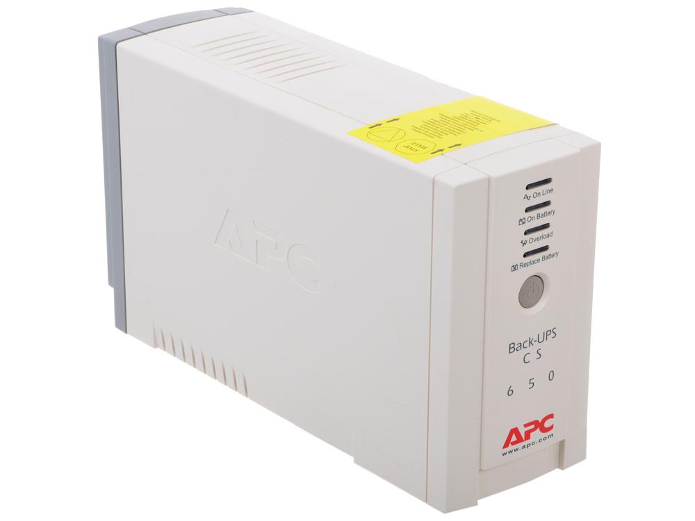 ИБП APC BK650EI Back-UPS 650VA/400W ибп cyberpower 650va 360w ut650ei черный