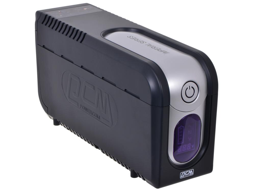 ИБП Powercom IMD-525AP Imperial 525VA/315W Display,USB,AVR,RJ11,RJ45 (3+2 IEC) ибп powercom imp 625ap imperial 625va 375w usb avr rj11 rj45 3 2 iec