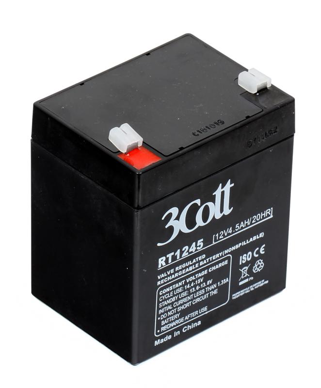Аккумулятор для ИБП 3Cott 12V4.5Ah аккумулятор 3cott 12v5 0ah