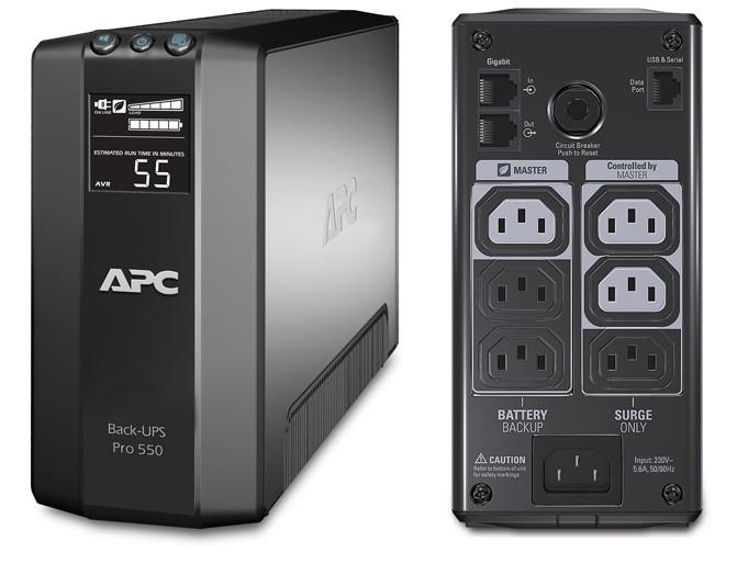 ИБП APC BR550GI Power Saving Back-UPS Pro 550VA/330W цена