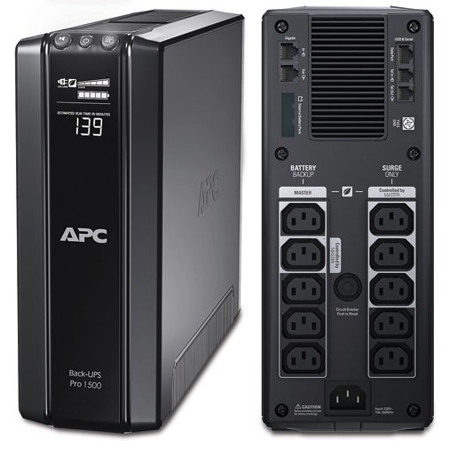 ИБП APC BR1500GI Power Saving Back-UPS Pro 1500VA/865W ибп apc back 1500va br1500gi