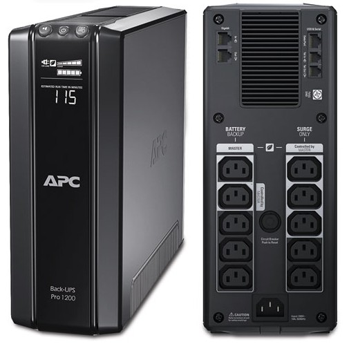ИБП APC BR1200GI Power Saving Back-UPS Pro 1200VA/720W buro bum 1287m90 черный