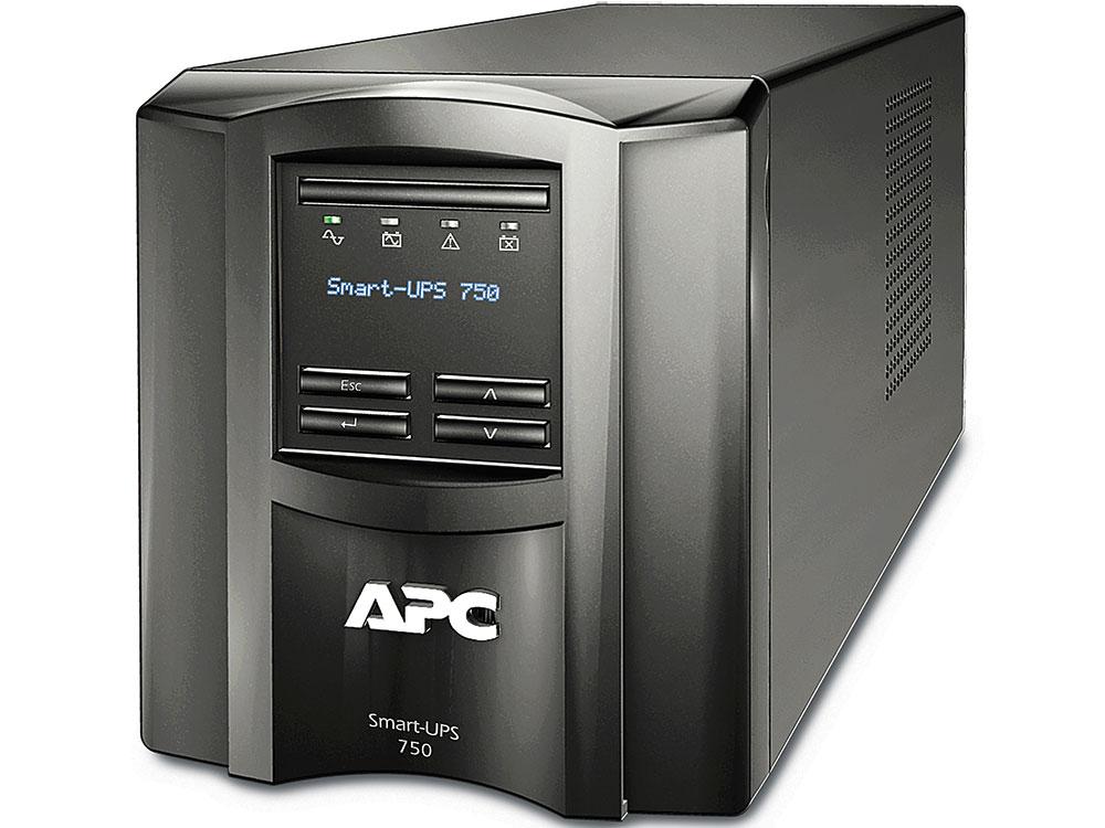 ИБП APC SMT750I Smart-UPS 750 VA/500W (6 IEC) LCD стоимость