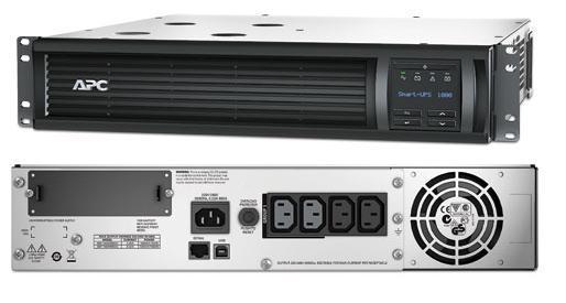 ИБП APC SMT1000RMI2U Smart-UPS 1000VA/700W LCD 2U Rackmount ибп apc smart ups c smc2000i 2u 2000va черный 1300 watts входной 230v выход 230v interface port u