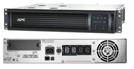 ИБП APC SMT1500RMI2U Smart-UPS 1500VA/1000W LCD 2U Rackmount ибп apc by schneider electric smart ups 1500 rm 2u smt1500rmi2u