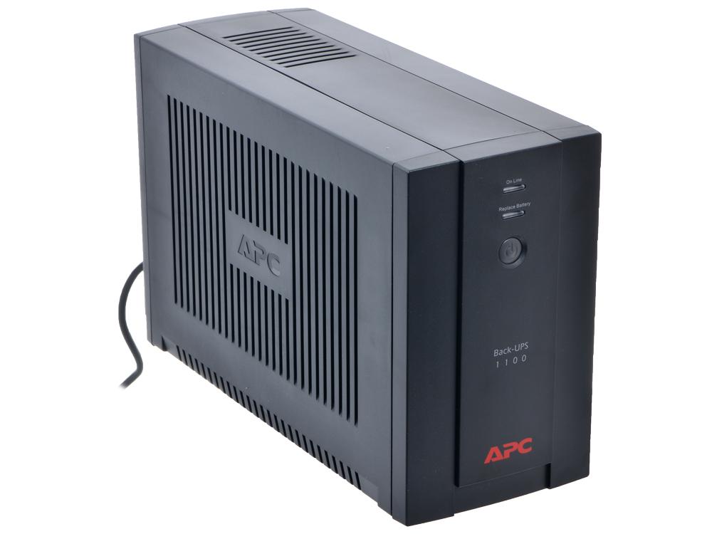 ИБП APC BX1100CI-RS Back-UPS 1100VA/660W (4 EURO) ибп apc be700g rs power saving back ups es 8 outlet 700va 405w