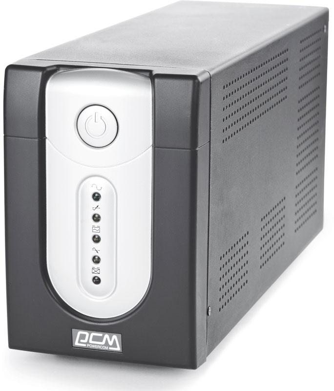 ИБП Powercom IMP-3000AP Imperial 3000VA/1800W USB,AVR,RJ11,RJ45 (6 IEC)* ибп powercom spd 850u spider 850va 510w usb avr rj11 rj45 4 4 euro output