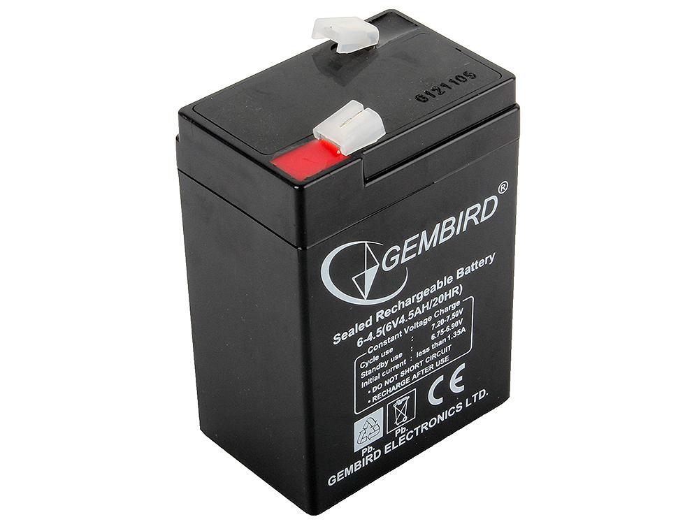Фото - Аккумулятор для ИБП Gembird BAT-6V4.5AH аккумулятор