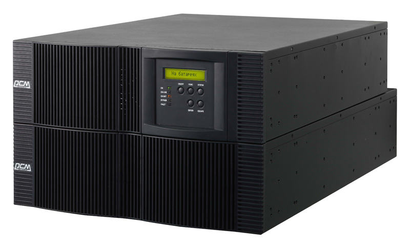 ИБП Powercom VRT-6000 Vanguard RM 6000VA/5400W U RS232,USB