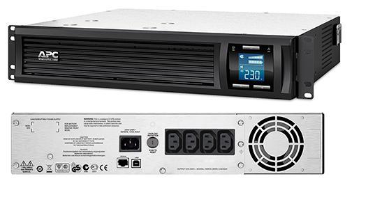 ИБП APC SMC1500I-2U Smart-UPS 1500VA/900W ибп apc smart smc2000i 2u 2000va черный