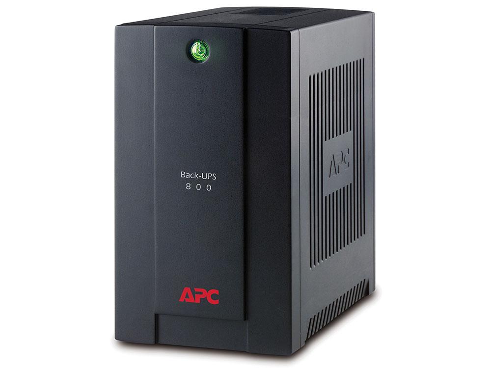 ИБП APC BX800LI Back-UPS 800VA/415W (4 IEC) ибп apc back ups bk350ei
