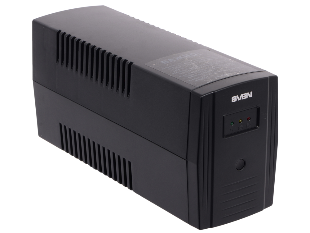 цена ИБП SVEN Pro 600 600VA/360W (2 EURO) в интернет-магазинах