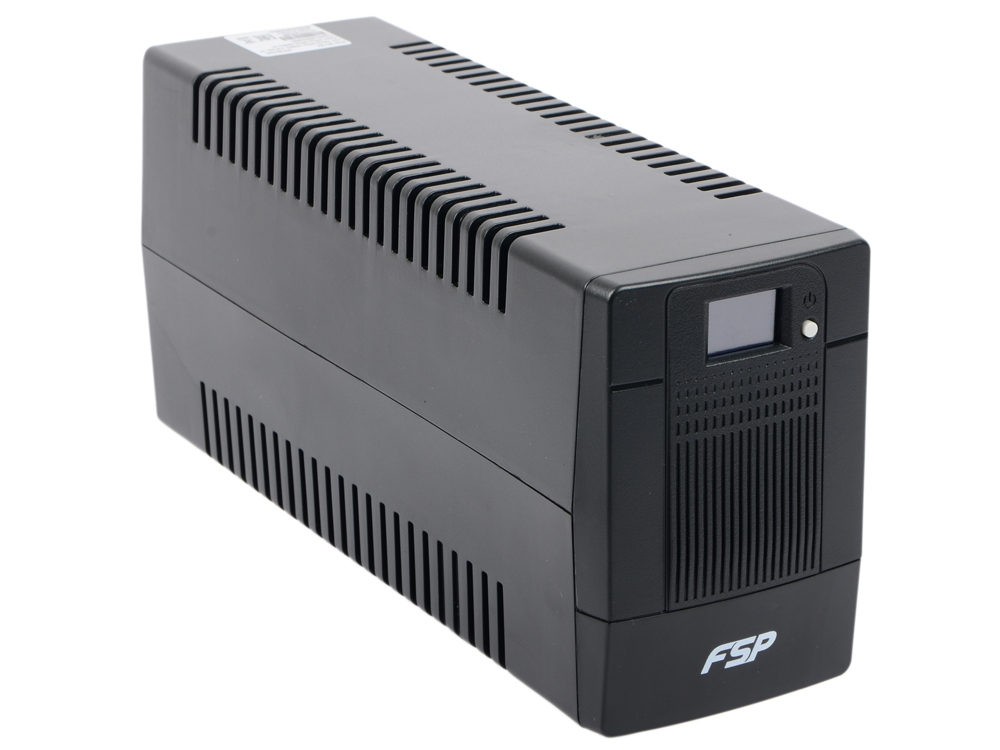 ИБП FSP DPV 850 850VA/480W LCD Display, (4 IEC) ибп fsp dp450 450va 240w ppf2401301
