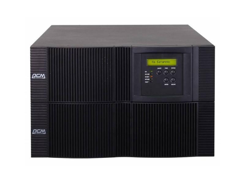 цена на ИБП Powercom VRT-10K Vanguard 9000W черный бат. блок выписывается отдельно