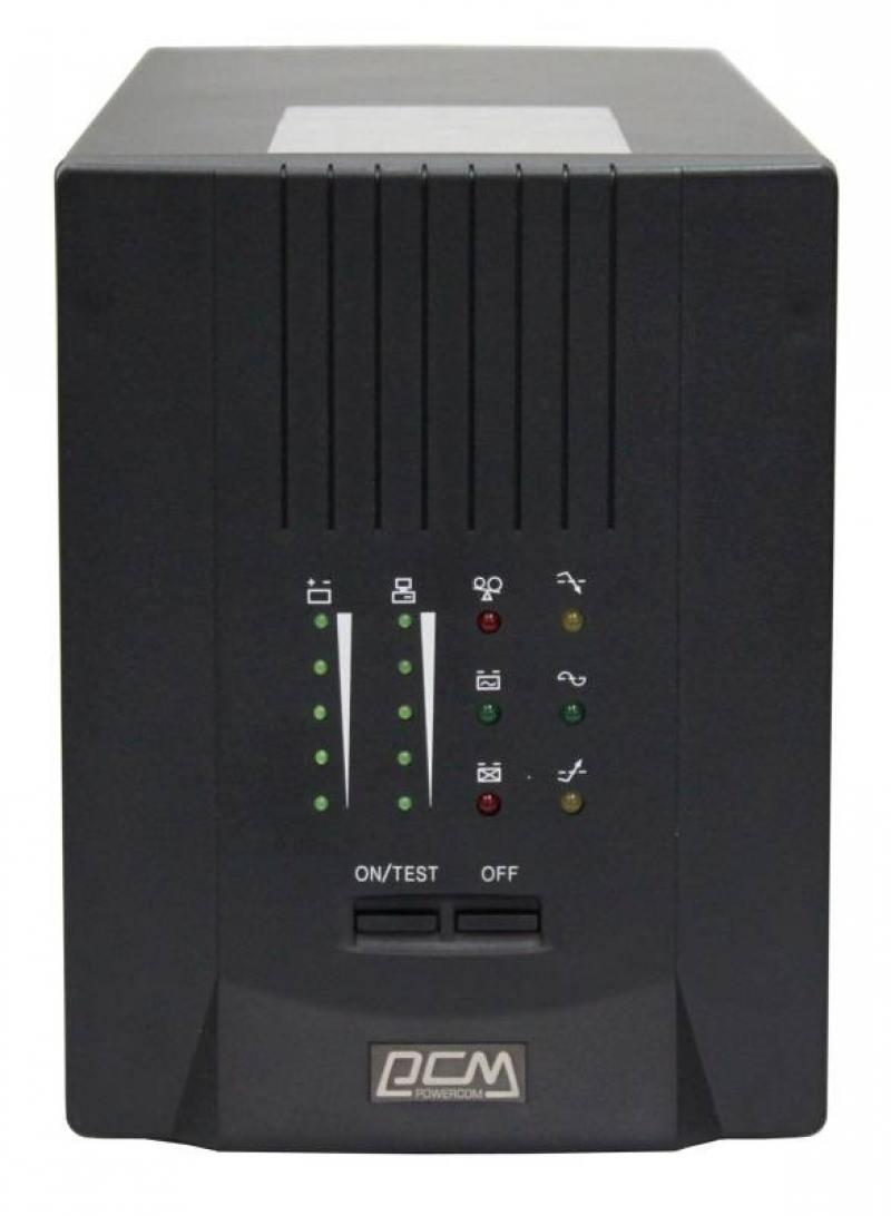ИБП Powercom Smart King Pro+ SPT-1500 1050Вт 1500ВА черный ибп powercom king pro kin 1200ap rm2u