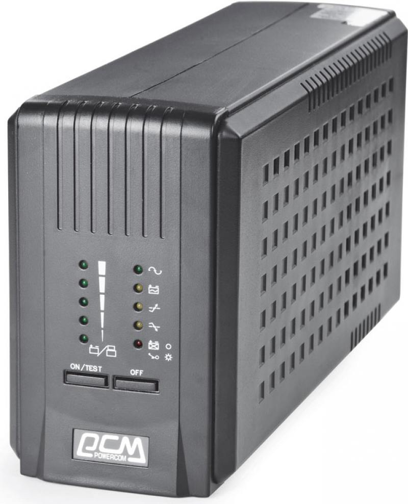 ИБП Powercom Smart King Pro+ SPT-500 350Вт 500ВА черный ибп powercom king pro kin 1200ap rm2u