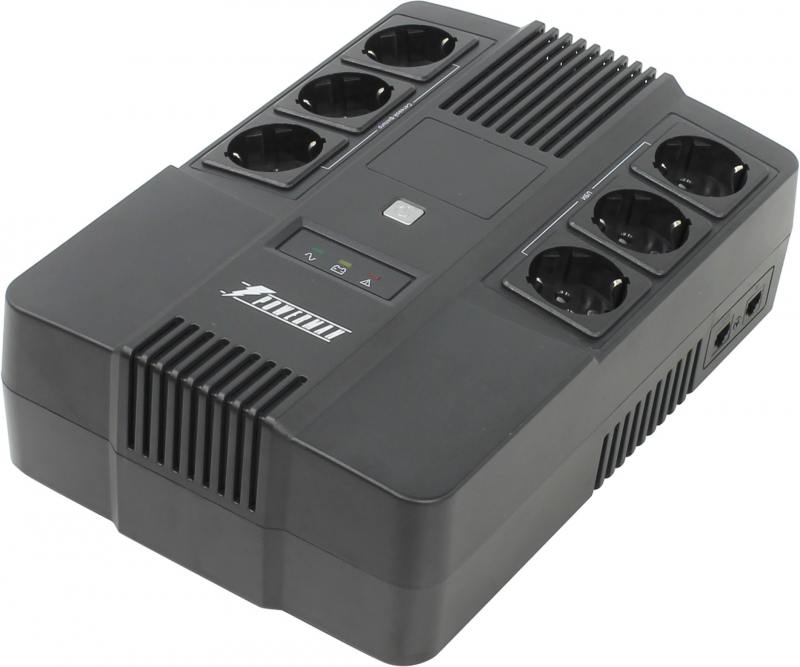 ИБП Powerman Brick 800 батарея powerman ca12120 ups 12v 12ah