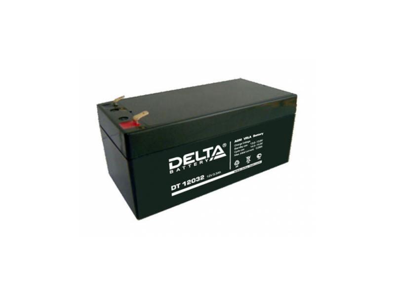 Аккумулятор Delta DT 12032 12V3.3Ah цена