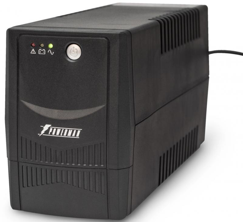 ИБП Powerman Back Pro 800 800VA 540Вт ибп cyberpower 800va value800ei b