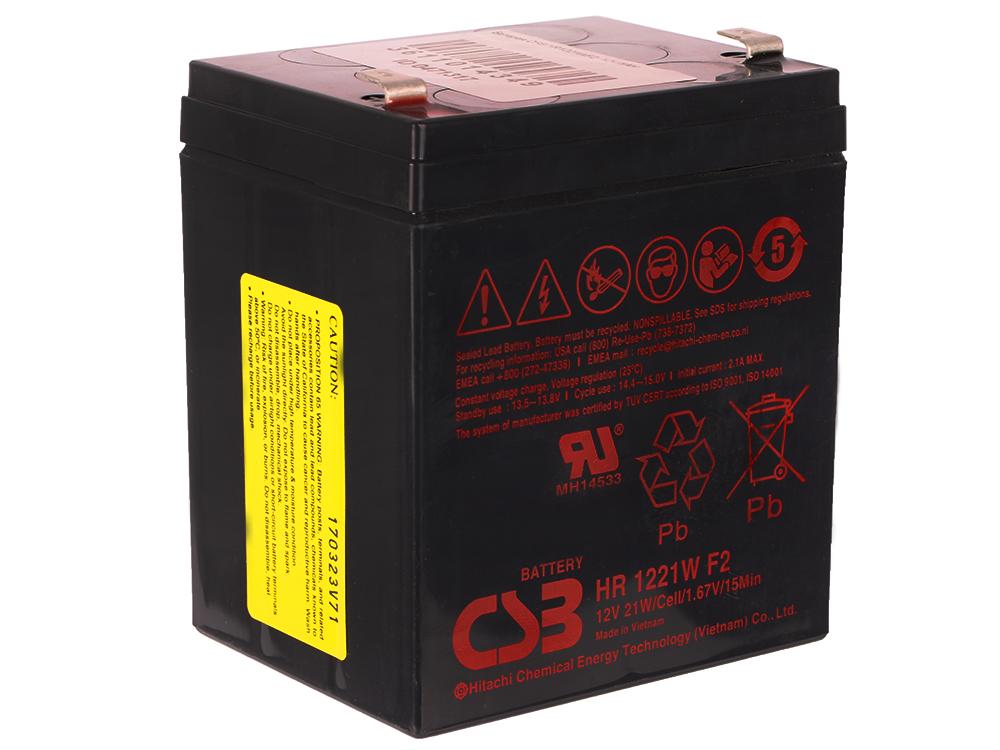Батарея CSB HR1221WF2 12V/5AH батарея 3cott 12v4 5ah