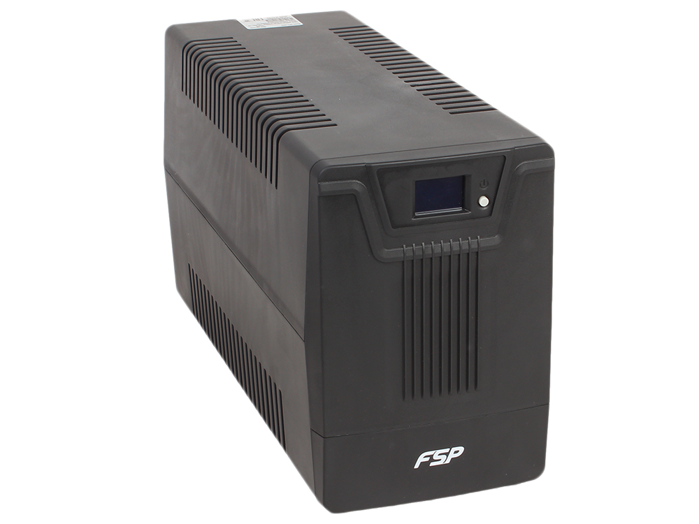 ИБП FSP DPV 2000 2000VA/1200W LCD Display, (6 IEC) ибп fsp dp450 450va 240w ppf2401301