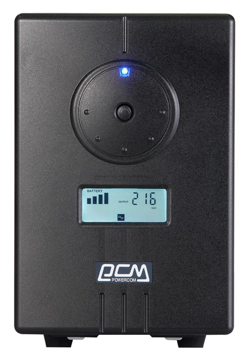 все цены на ИБП Powercom Infinity INF-1500 1050Вт 1500ВА черный онлайн
