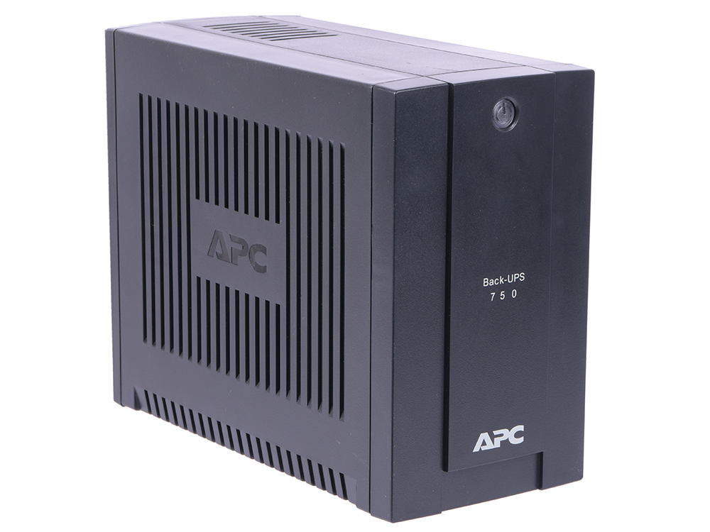 ИБП APC BC750-RS Back-UPS 750VA/415W (3+1 EURO) ибп apc by schneider electric back ups 1100va bx1100ci rs