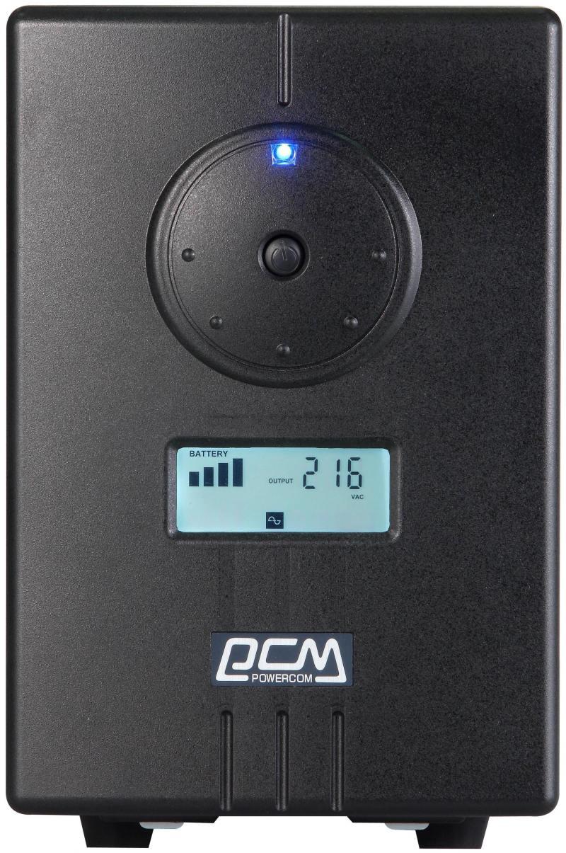 все цены на ИБП Powercom Infinity INF-1100 770Вт 1100ВА черный онлайн