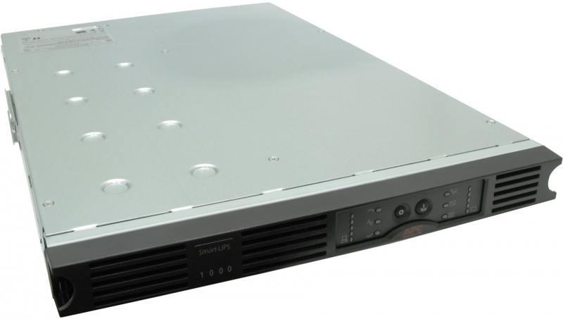 ИБП APC SUA1000RMI1U Smart-UPS SUA, Line-Interactive, 1000VA/640W, Rack, IEC, Serial+USB, SmartSlot цена