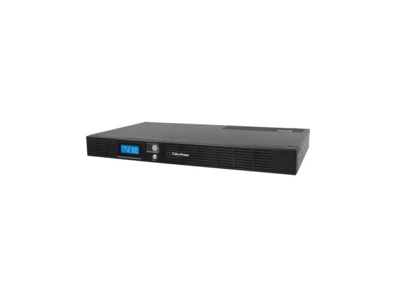 ИБП CyberPower 600VA OR 600 LCD 1Unit line-interactive OR600ELCDRM1U черный все цены