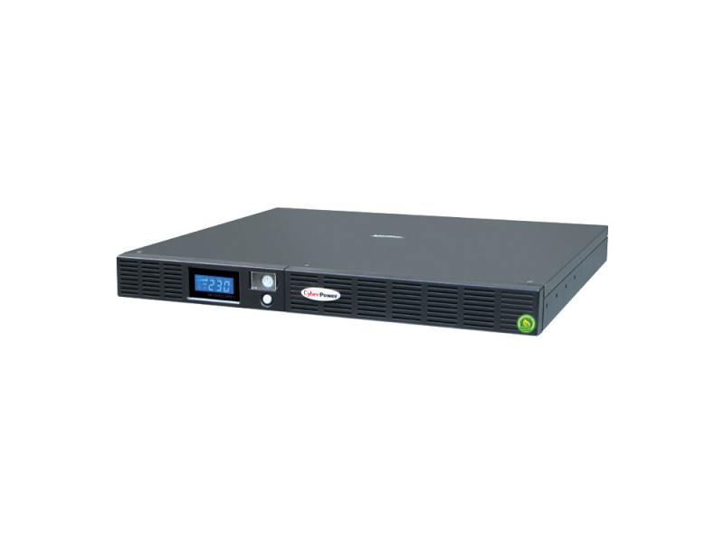 ИБП CyberPower 1000VA OR 1000 LCD 1Unit line-interactive OR1000ELCDRM1U черный все цены