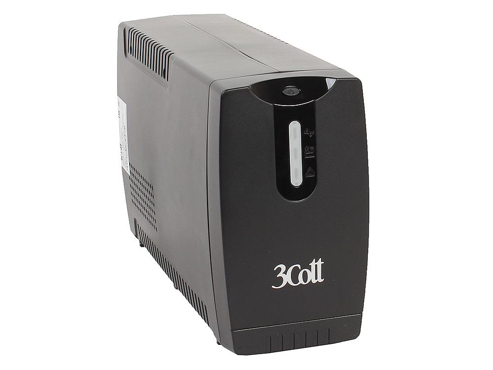 3Cott-850-OFC ибп 3cott 1050 ofc office line 1050va 630w