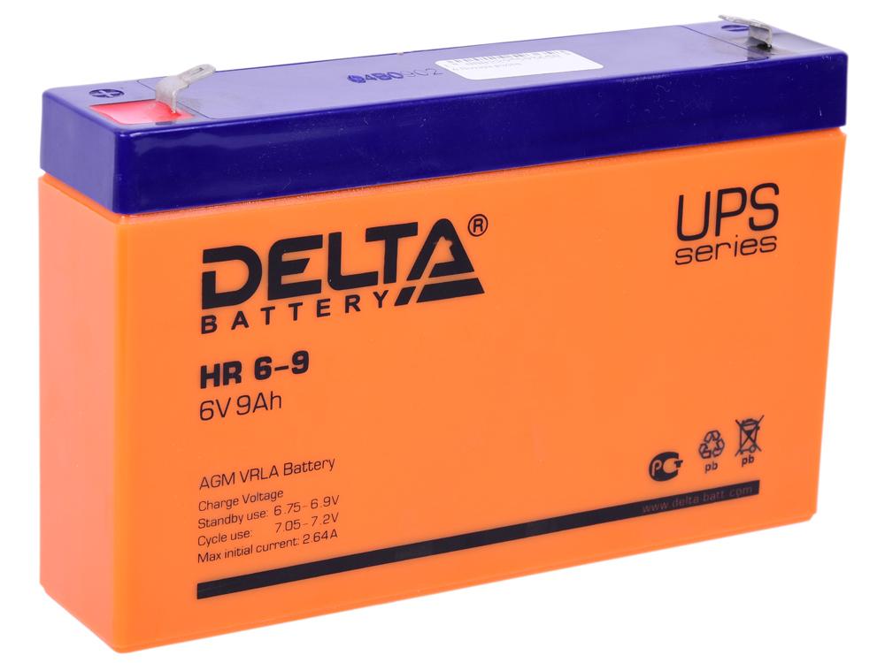 Батарея Delta HR 6-9 9Ач 6B все цены