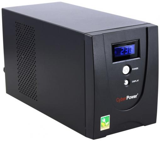 ИБП CyberPower 2200VA VALUE2200EILCD черный ибп cyberpower bs850e 850va