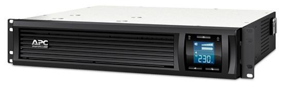 ИБП APC Smart-UPS C SMC2000I-2URS 1300Вт 2000ВА черный ибп apc smart ups c smc2000i rs 1300вт 2000ва черный