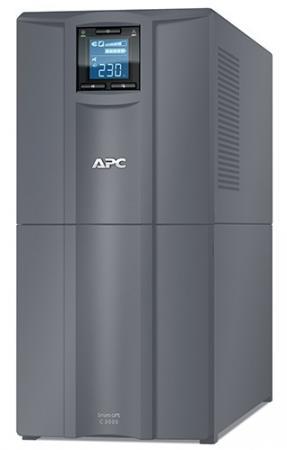 ИБП APC Smart-UPS C SMC3000I-RS 2100Вт 3000ВА черный