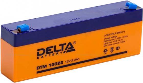 Батарея Delta DTM 12022 2.2Ач 12B цена и фото