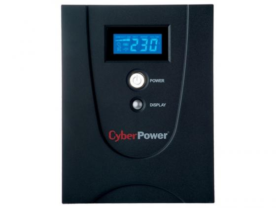 ИБП CyberPower 1500VA VALUE1500EILCD-RU черный ибп cyberpower value1500elcd 1500va