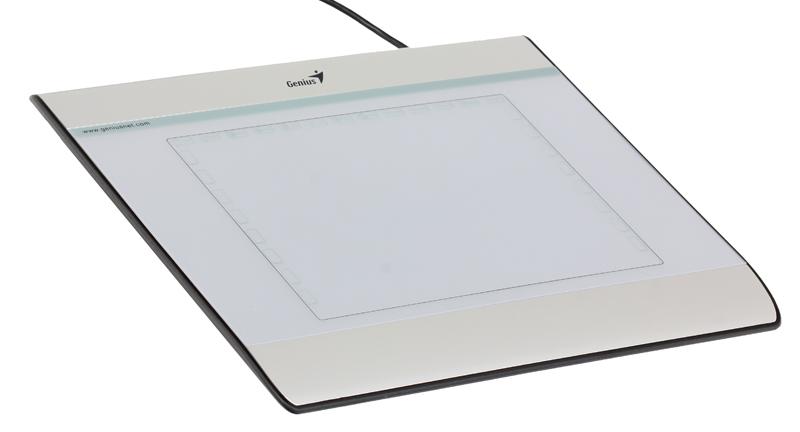 Графический планшет Genius MousePen I608X, раб. зона: 6х8 дюймов, Стилус+Беспроводная Мышь, Разрешение: 2540LPI, скорость: 100DPS,Горячих кл: 29, USB планшет 9 10 дюймов