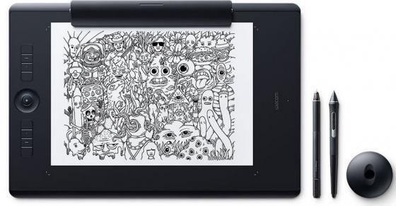 Графический планшет Wacom Intuos Pro Large Paper PTH-860P-R графический планшет wacom intuos pro medium pth 660 r corel painter 2016