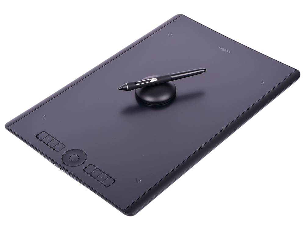 Графический планшет Wacom Intuos Pro Large PTH-860-R raxfly luxury car phone holder for iphone x xs 8 7 plus windshield car mount phone stand 360 car holder for samsung s9 s8 note 9
