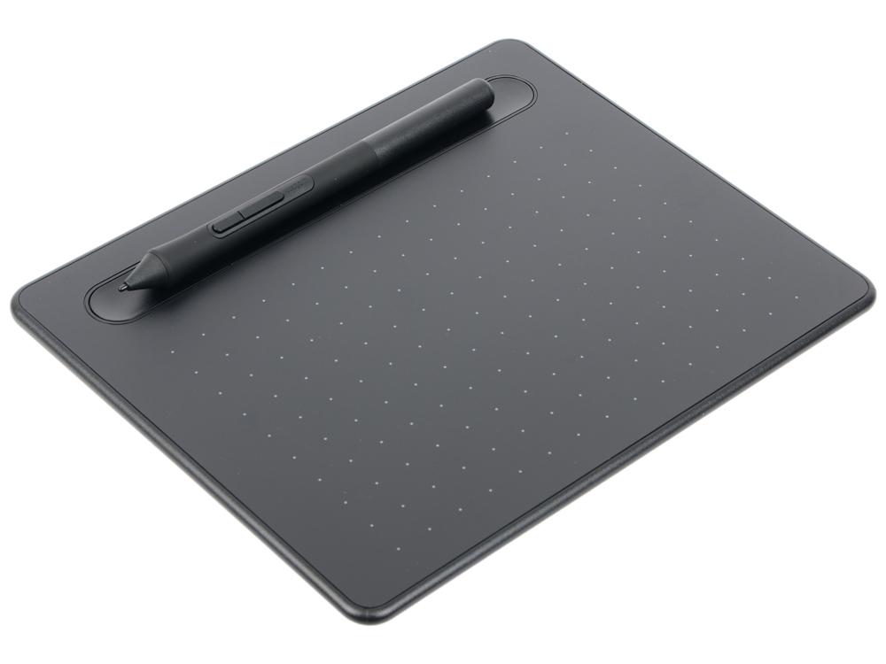 Графический планшет Wacom Intuos S Bluetooth Black (CTL-4100WLK-N) s s обучающий интерактивный планшет кругосветное сафари