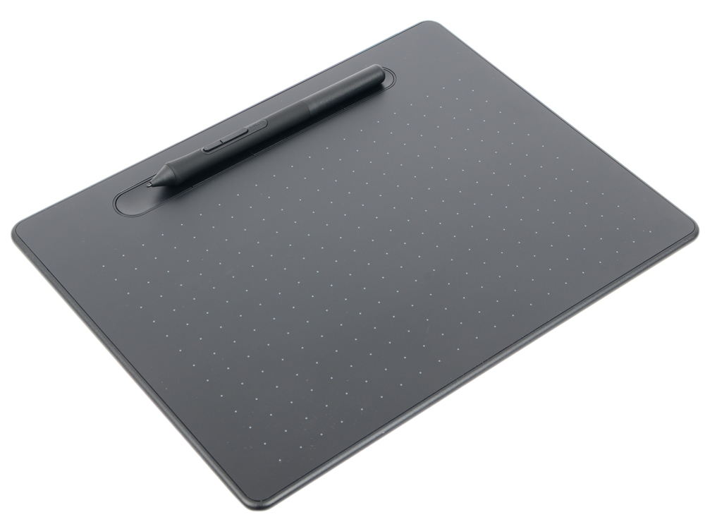 Графический планшет Wacom Intuos M Bluetooth Black (CTL-6100WLK-N) wacom intuos pro medium black графический планшет corel painter 2018