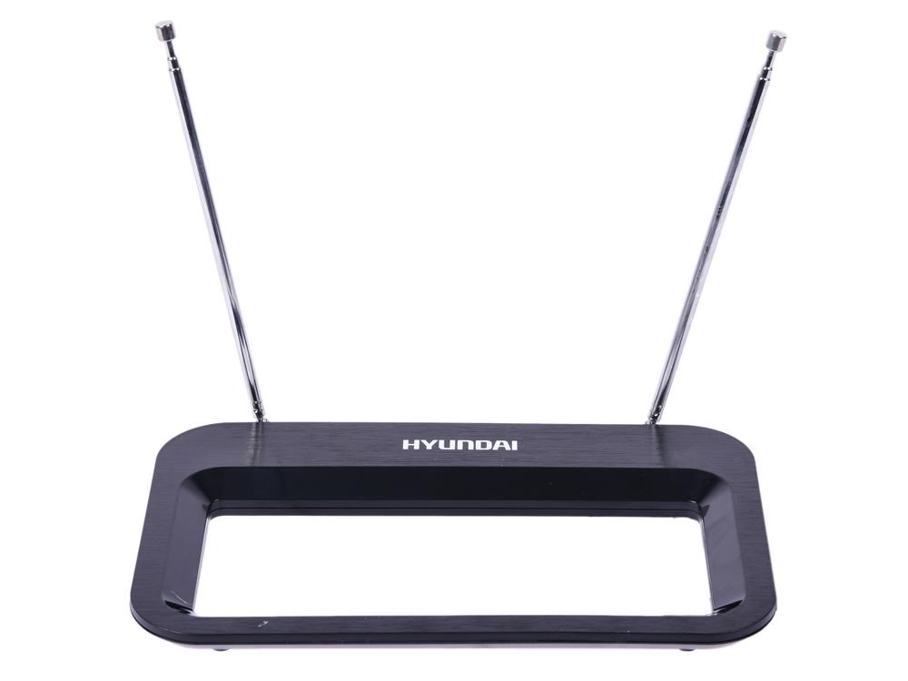 Антенна Hyundai H-TAI380 Комнатная антенна, VHF 87.5-230 МГц, UHF 470-862 МГц, 30dBi комнатная антенна hyundai h tai240